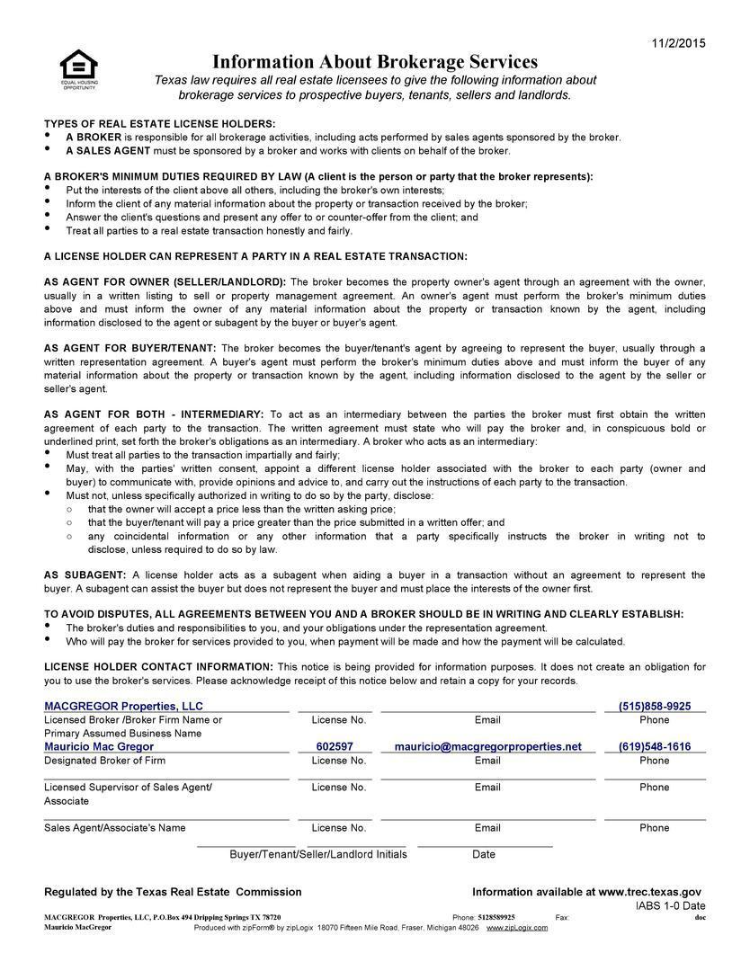 Welcome - Realtor® Mauricio Mac Gregor - Real Estate Agent